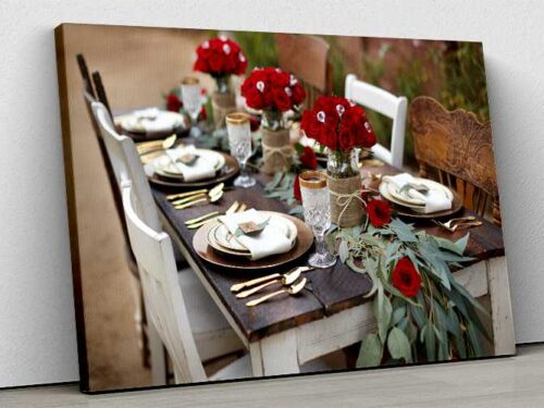 Tablou Canvas Rustic Party